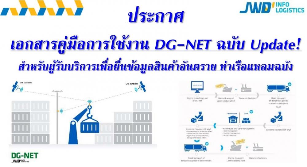 ประกาศ Update เอกสารคู่มือการใช้ DG-Net Version 14-07-2559